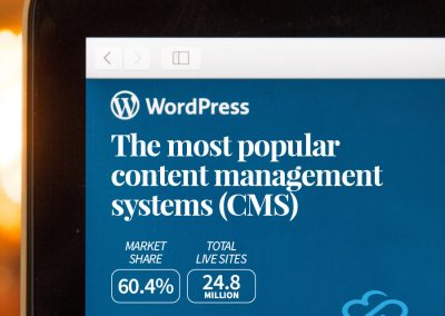 Wordpress - The Most Popular Content Management System (CMS)