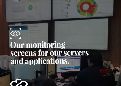 Our Monitoring Screens for Our Servers and Applications