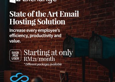 State of the Art Email Hosting Solution - Hosted Exchange Malaysia