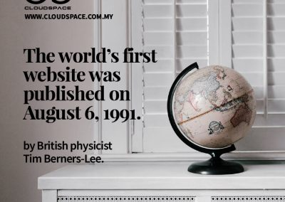 The World's First Website was Published on August 6, 1991