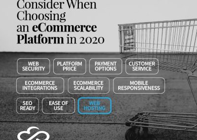 10 Things You Must Consider When Choosing an Ecommerce Platform in 2020