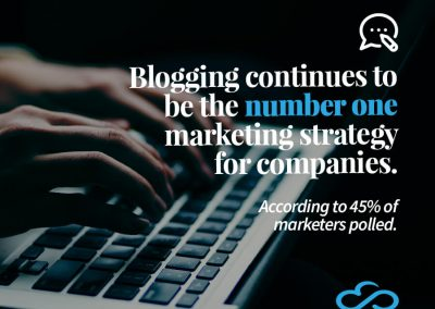 Blogging Continues to be the Number One Marketing Strategy for Companies