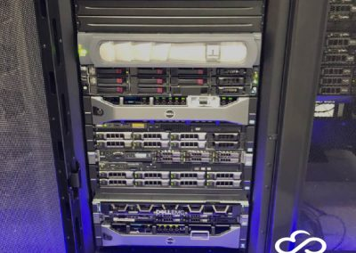 A snapshot of our hosting rack at VATS TM, TTDI.